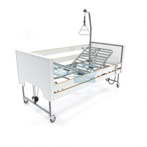Ecofit S Deluxe Wit Thuiszorgbed Hoog Laag Bed Seniorenbed Papagaai Zorgbedonline Productfoto
