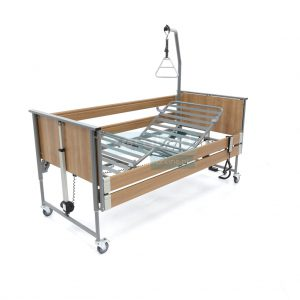 Ecofit S Noten Thuiszorgbed Hoog Laag Bed Seniorenbed Papagaai Zorgbedonline Productfoto